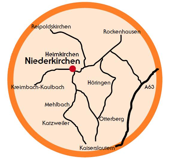 Lage Heimkirchen